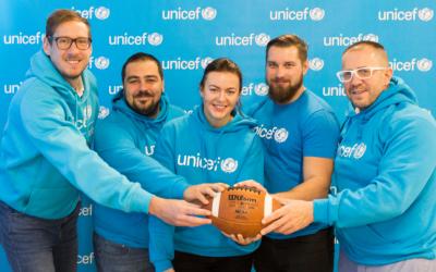 """UNICEF a SAAF: """"Aby každé dieťa malo športové zážitky a príležitosť sa rozvíjať."""""""