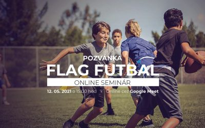 Online seminár Flag futbal pod patronátom Zvolen Patriots.