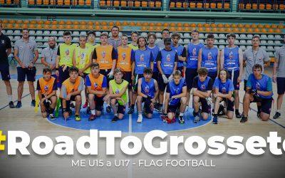 #RoadToGrosseto Reprezentácia SR U15 a U17 vo flag futbale mieri v septembri do Talianska na Majstrovstvá Európy.