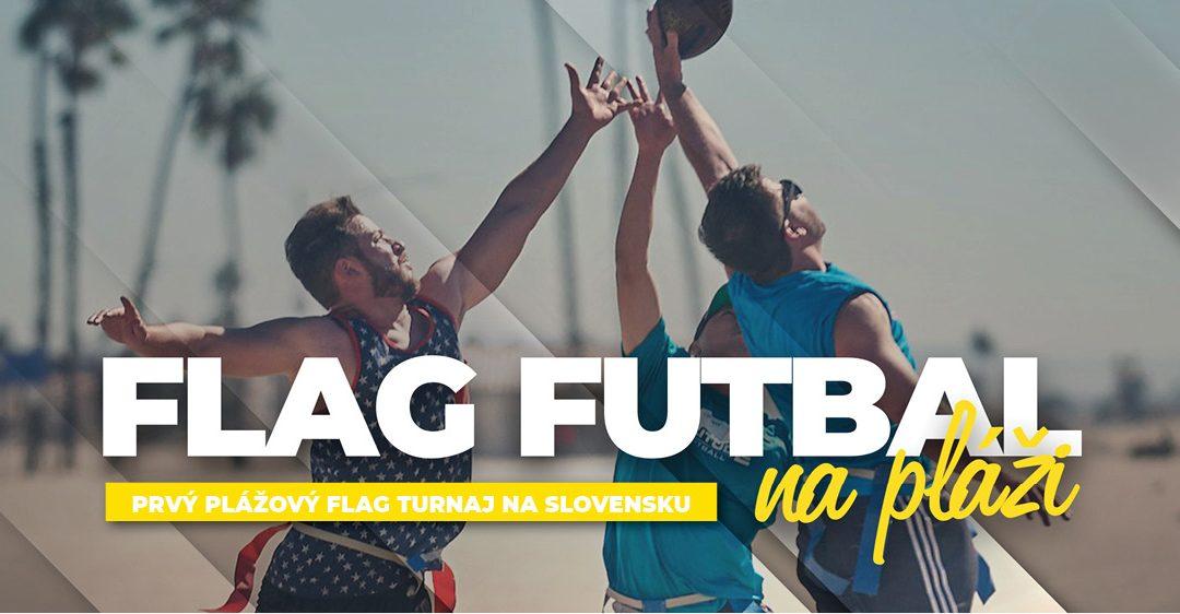 FLAG FUTBAL na pláži už túto sobotu! Prvý turnaj v plážovom flag futbale v strednej Európe sa bude hrať na bratislavskom Draždiaku.
