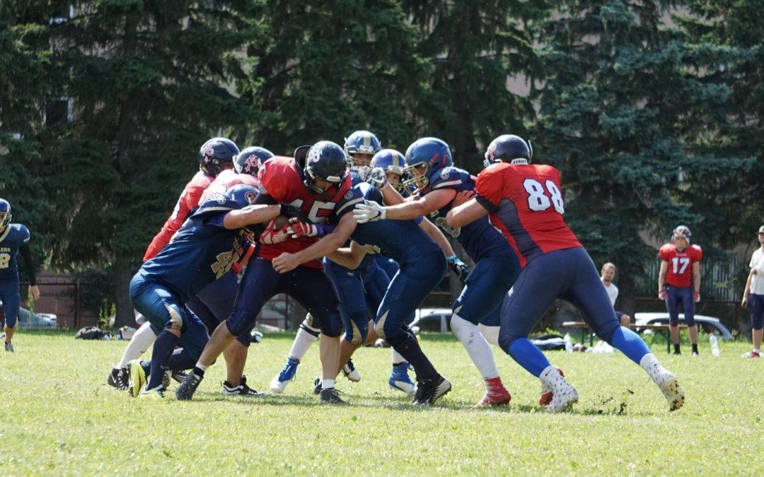 Nitra Knights svojich súperov trhá na kúsky! Dominanciu v Slovenskej lige amerického futbalu tentoraz potvrdili vo Zvolene.