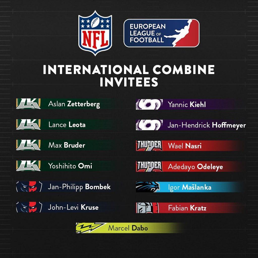 Igor Mašlanka - NFL INTERNATIONAL COMBINE